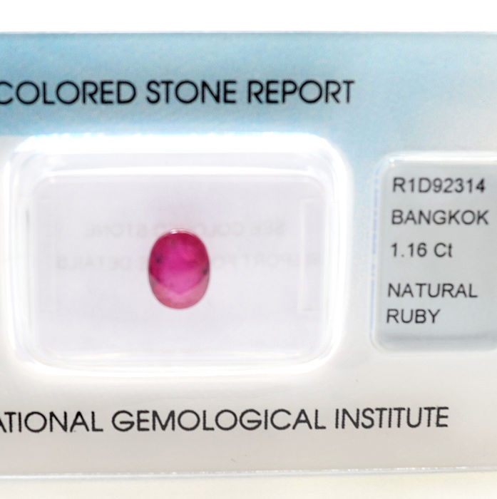 Ruby - 1.16 ct
