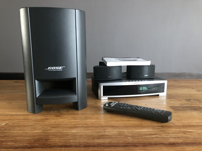bose 321 gs series 3 hdmi and gemstone speakers catawiki. Black Bedroom Furniture Sets. Home Design Ideas