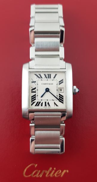 Cartier - Tank Française - 2465 - Mujer - 2000 - 2010