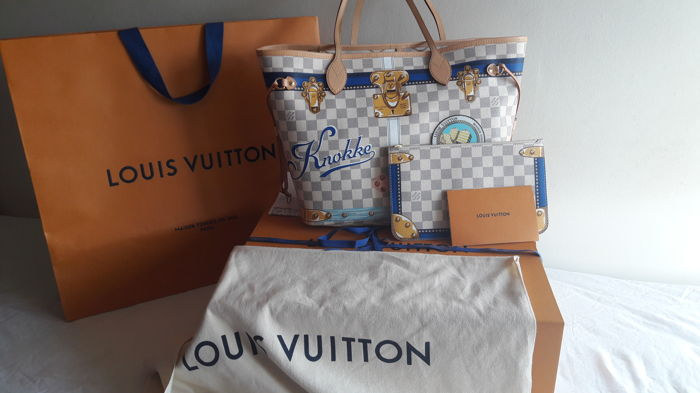 43d82c6b5cf1 Louis Vuitton - Neverfull Summer Trunk Knokke Ltd Ed Tote bag ...