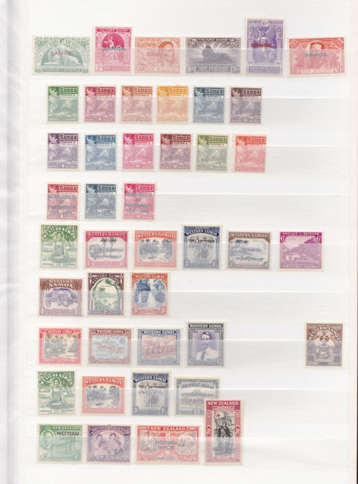 Samoa 1920/1994 - except for a series