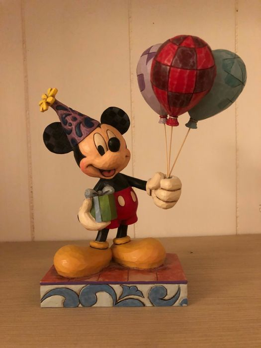 Disney Showcase collection - Figure - Traditions Jim Shore #4013255 - Mickey Mouse - Cheerful Celebration