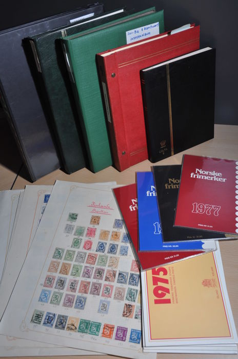 Scandinavia - Party in stock books, year sets, album and more