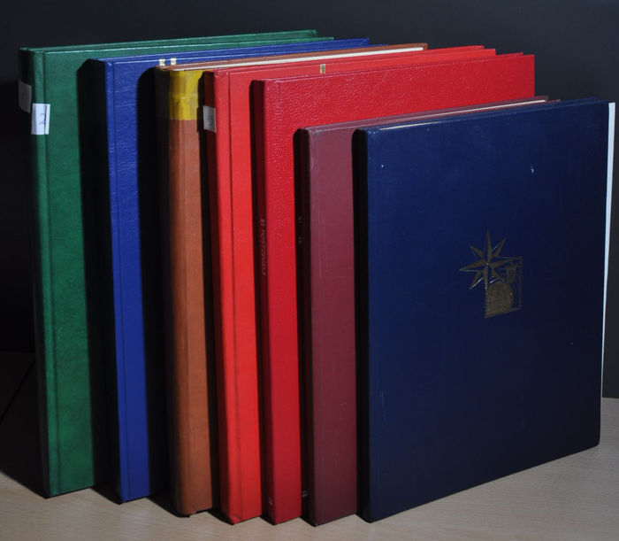 World - Party in various stock books