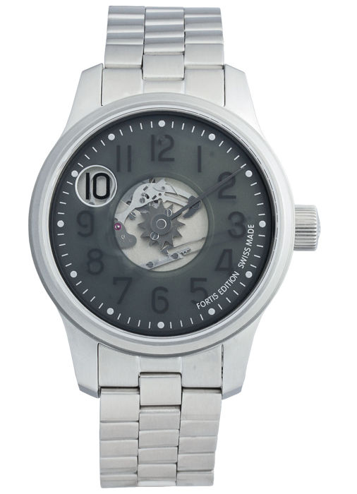 Fortis - F-43 Jumping Hour Limited Edition - 710.10.37 M - Heren - 2011-heden