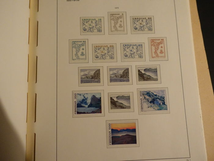 Faroe Islands 1975/1987 - Complete Collection