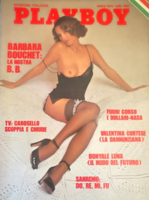 Playboy edizione italiana; Lot with 11 Italian issues of Playboy - 1975