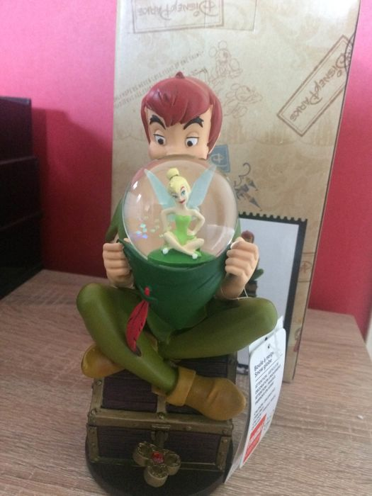 Disney Parcs Musical Snowglobe Peter Pan You Can Fly You Can