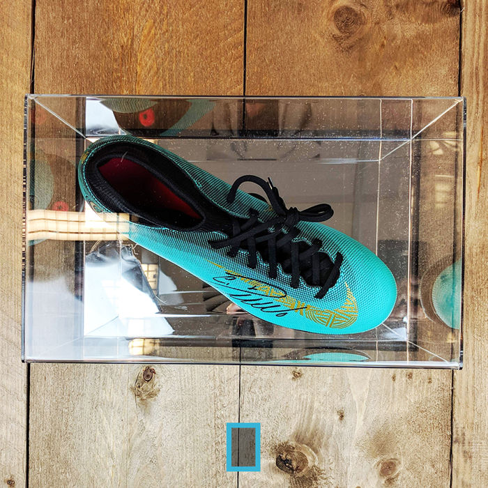 cd96a849fff2 Cristiano Ronaldo signed Nike football boot in display case + official COA  and photo proof