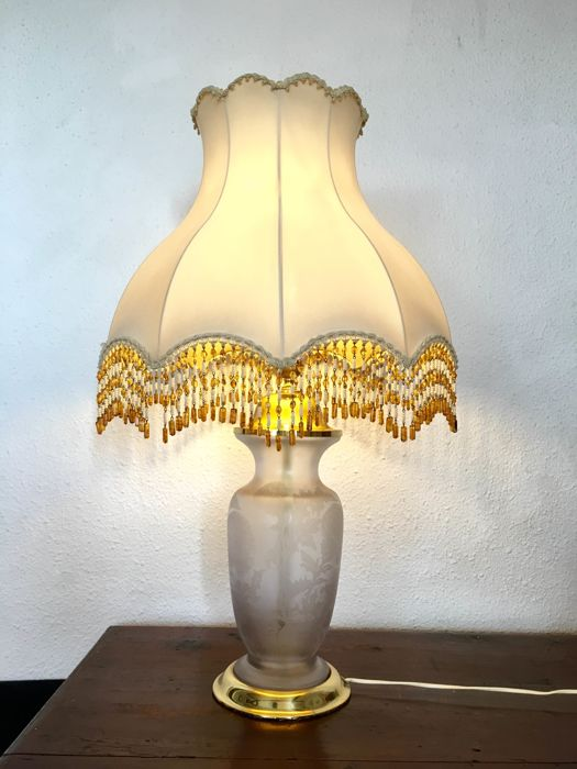 Diseño By Cabaret Table Lamp Lágrimas Vidrio Y Cuencas - Cabaret table lamps