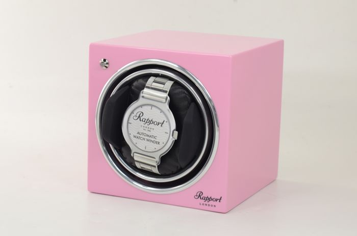 Rapport London - Evo Cube Watch Winder Pink - EVO12 - Unisex - 2011 - actualidad