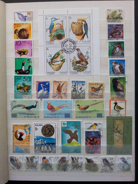 World 1930/2005 - Theme Birds and Other Animals