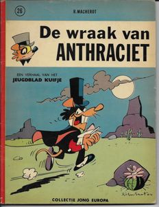 Chlorophyl 26 - De wraak van Anthraciet - Softcover - First edition - (1964)