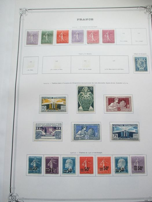 France, Germany and other countries 1880/1941 - Collection of stamps including tax