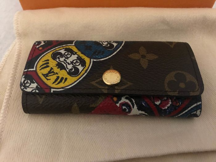 Limited edition Louis Vuitton Kabuki 4 keys holder Japan exclusive