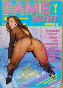 "Pornography; Lot with 12 ""Dame sucht"" magazines - approx. 1978/2005"