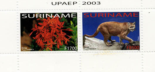 Suriname 2003/2007 - Thematic Stamps