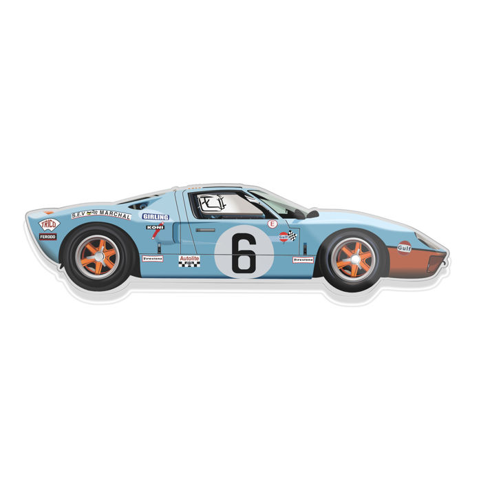 decorative object sl halmo collection ford gt40 gulf 2018 catawiki. Black Bedroom Furniture Sets. Home Design Ideas