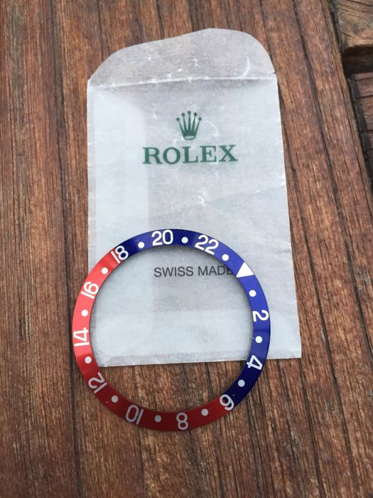 ROLEX Pepsi GMT insert with fat font