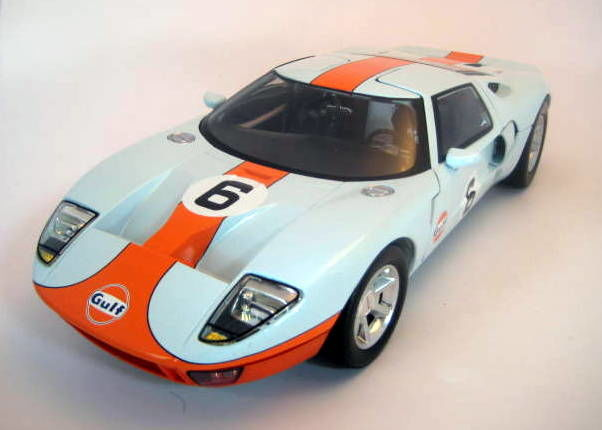 Motormax - 1:12 - Gulf-Ford GT #6 Concept