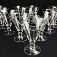 Tableware Auction (Drinking Glasses)
