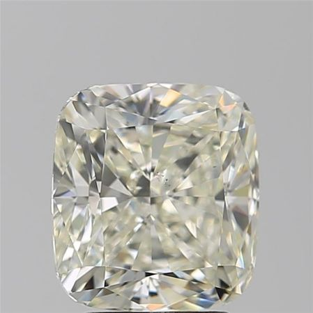 Cushion Brilliant Diamond 3.02 ct total K VS2 with HRD certificate -  #443