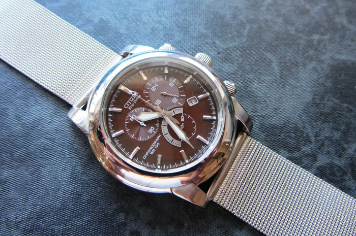 Citizen - Chronograph Classic Eco Drive - AT0550-11X H500 - Heren - 2011-heden