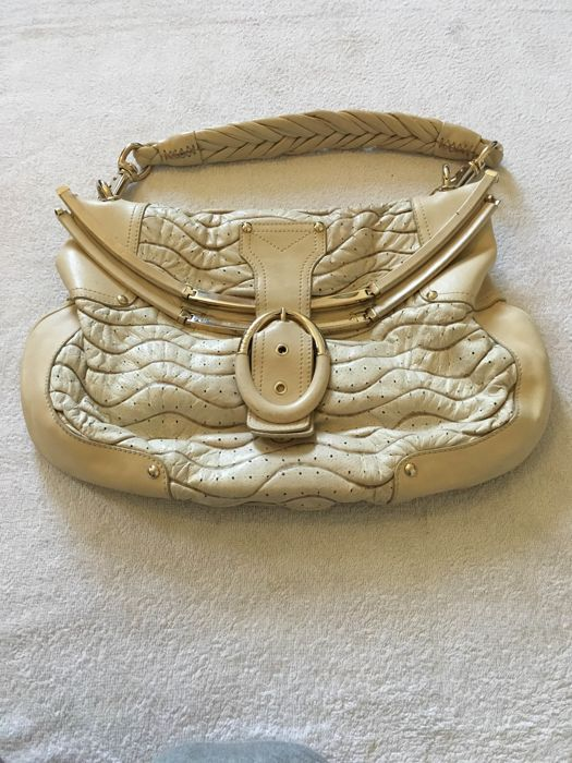 Versace - Puckered handbag