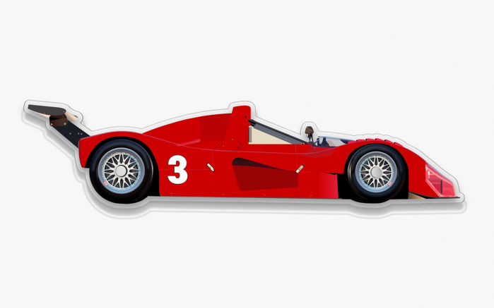 Decoratief object - SL-Halmo Interpretation  FERRARI 333SP - 2018 (1 items)