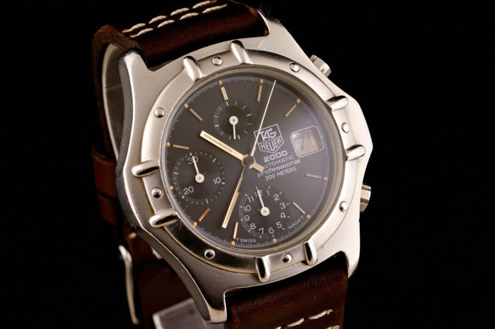 TAG Heuer - 2000 Professional Chronograph Automatic Watch - Heren - 2000-2010