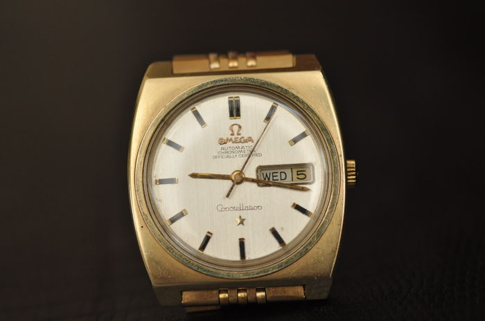 "Omega - Constellation Automatic Chronometer - ""NO RESERVE PRICE"" - 166.063 - Homem - 1970-1979"