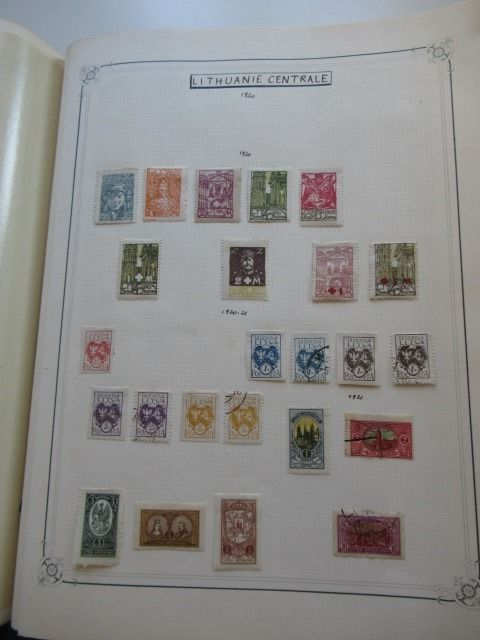 Portugal, Lithuania and other countries 1900/1955 - Stamp collection including airmail