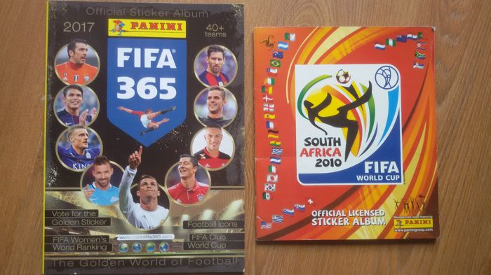 215dc96d6 Panini - World Cup 2010 South Africa + Panini FIFA 365 (2017) - complete