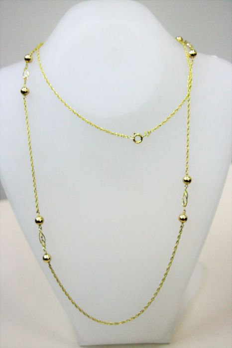8 kt. Yellow gold - Necklace