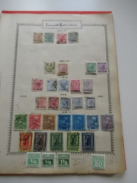 Foreign Offices in the Levant 1890/1920 - Stamp Collection