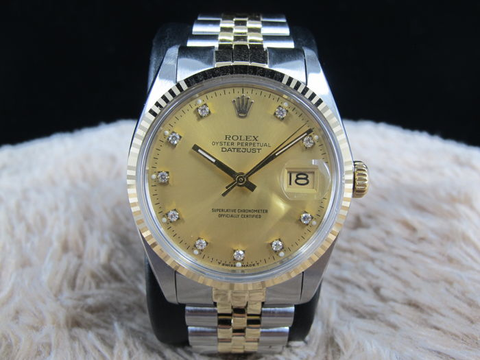 Rolex - Oyster Perpetual  Datejust - 16013 - Unisex - 1970-1979