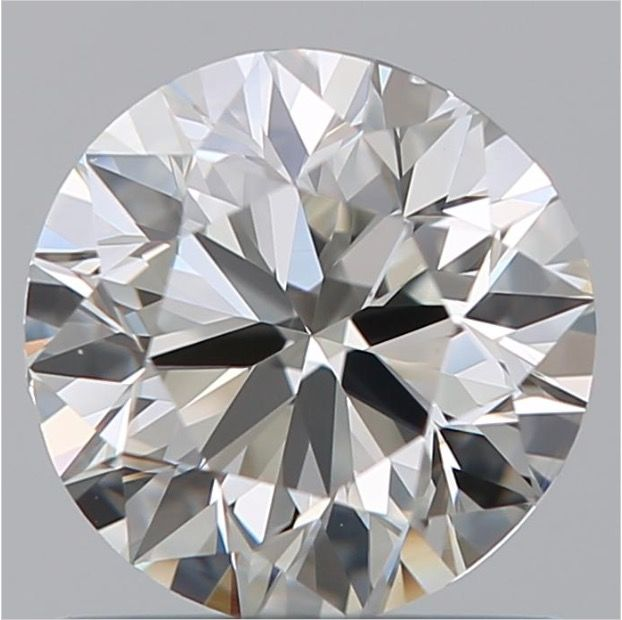 0.90 ct Round Brilliant Cut Diamond H VS1 -  -10X  - #2976