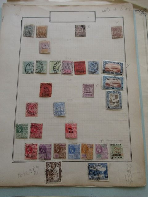 Brazil, British colonies and other countries 1882/1931 - Stamp collection
