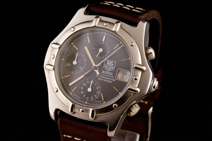 TAG Heuer - 2000 Professional Chronograph Automatic Watch - Herren - 2000-2010