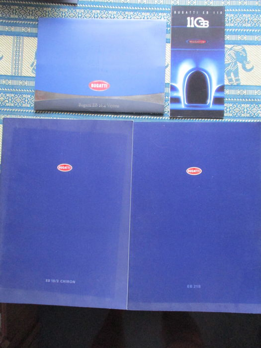 Brochures / catalogues - Bugatti - 1993-2004