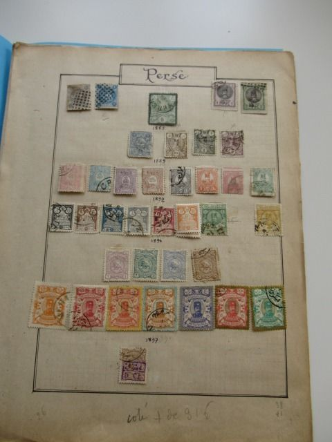 Persia - Iran 1882/1930 - Stamp collection