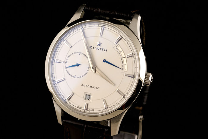 Zenith -  Elite Captain With Power Reserve - Mænd - 2000-2010