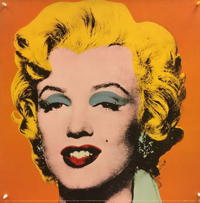Andy Warhol - Shot Orange Marilyn (1964) - 1995
