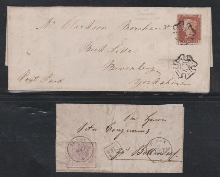 Europe - Lot with 8 classic letters