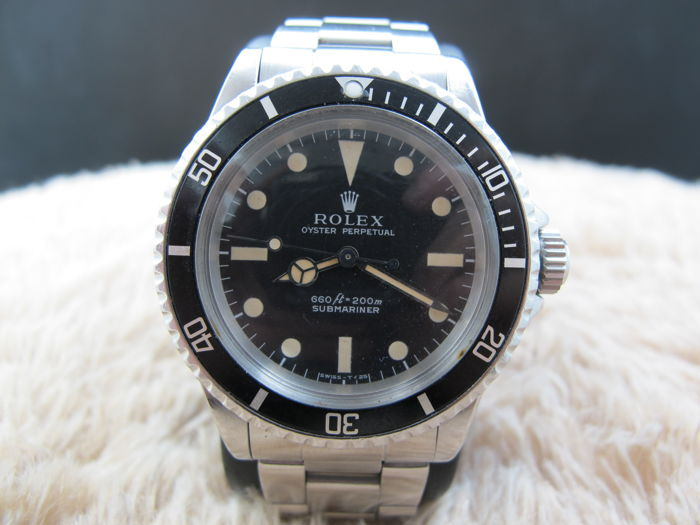 Rolex - No Date Submariner - 5513 - Unisex - 1970-1979