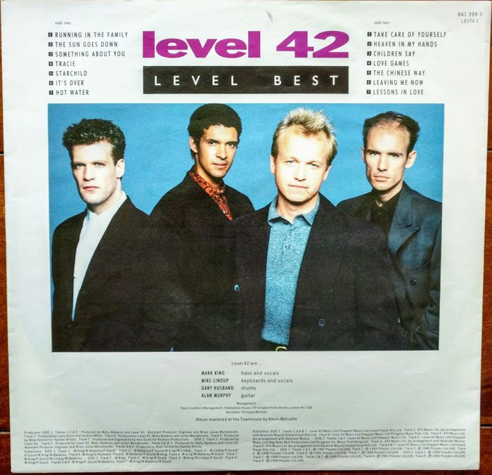 80's pop/rock, 8 albums: Jim Carroll Band, Level 42, Bryan