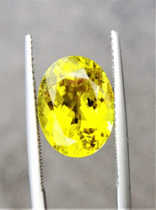 Canary Tourmaline - 6.67 ct