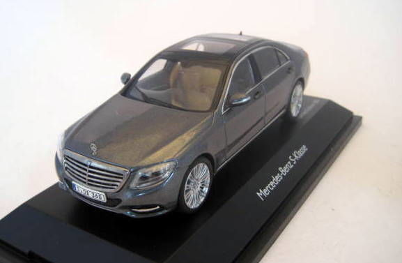 Schuco - 1:43 - Mercedes-Benz S-Class Greymetallic (V222) - Limited Edition 500 pcs. - Mint Boxed