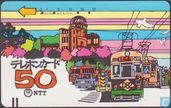 Phone cards - Nippon Telegraph and Telephone Corporation - Trams