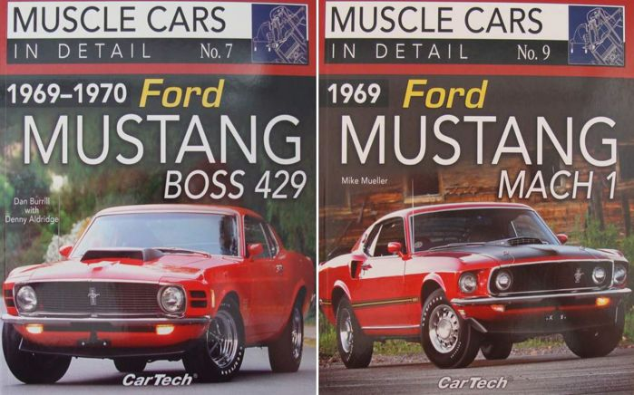 MUSTANG BOOK BOSS 429 1969 1970 FORD IN DETAIL BOOK